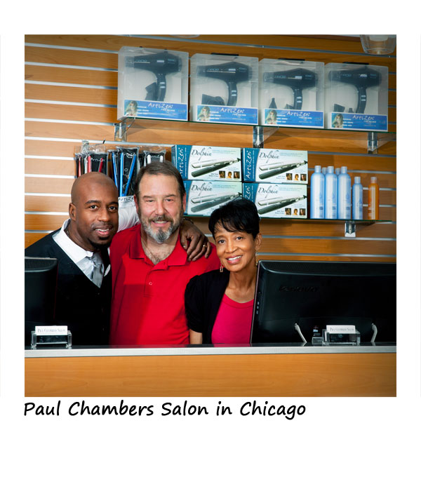 Paul Chambers Salon retails Artizen